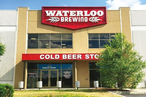 Waterloo Brewing - Canadá