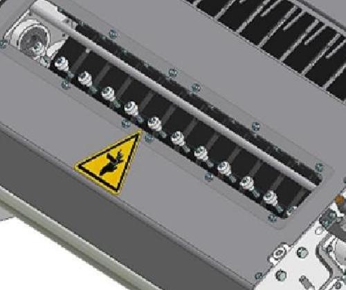ZF010021 - Grupo de cortador con tipo de serie SK de ascenso de película con cuchilla motorizada
