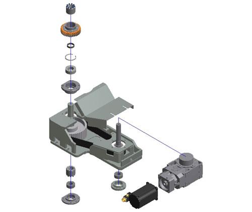 ZF010026 - Actualización transmisión motor principal carrusel