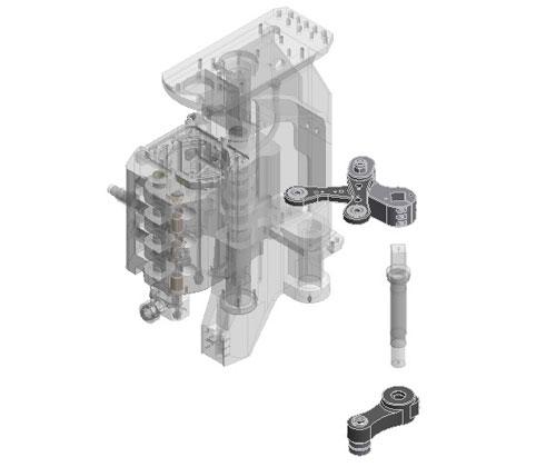 ZF010049 - Actualización leva portamolde inferior y superior