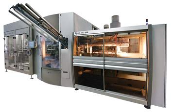 Sistemas integrados de estirado-soplado, llenado y taponado para liquidos carbonatados