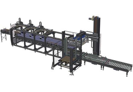 Sistemas automáticos de paletización