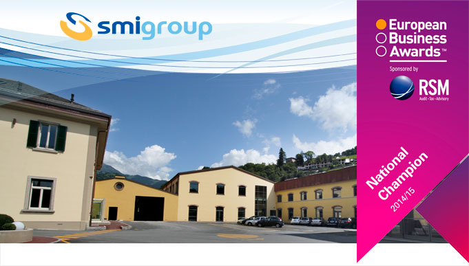 SMI is a finalist of the European Business Awards 2014/2015