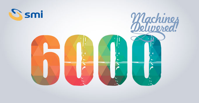 The tally reaches 6,000! SMI aims high